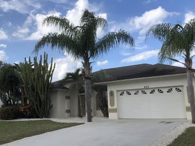 Port Saint Lucie Single Family Home For Sale: 623 SE Stow Terrace