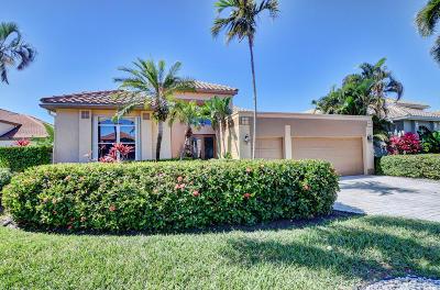 Boynton Beach Single Family Home For Sale: 11605 Privado Way