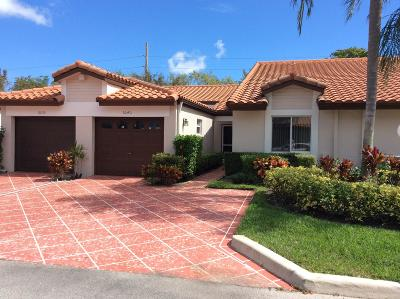Delray Beach Single Family Home For Sale: 6040 Millington Way