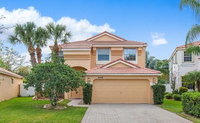 Lake Worth Single Family Home For Sale: 6429 Branchwood Drive