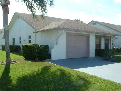 West Palm Beach Single Family Home For Sale: 5251 Tiffany Anne Circle