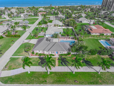 Fort Pierce Single Family Home For Sale: 2024 S Ocean Drive