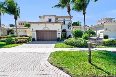 Palm Beach Gardens Single Family Home For Sale: 111 Viera Drive