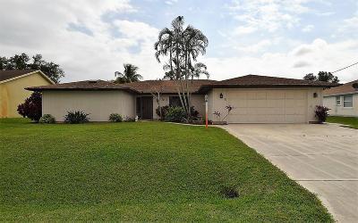 Port Saint Lucie Single Family Home For Sale: 186 SW Essex Drive