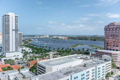 West Palm Beach Condo For Sale: 801 S Olive Avenue #1607