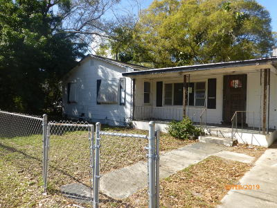 Fort Pierce Single Family Home Contingent: 603 S 22nd Street
