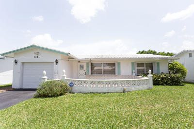 Plantation Single Family Home For Sale: 1410 NW 85th Avenue