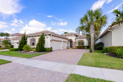 Port Saint Lucie Single Family Home For Sale: 10861 SW Visconti Way