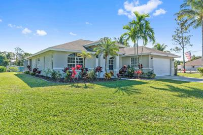 Loxahatchee Single Family Home For Sale: 9316 Calamondin Boulevard