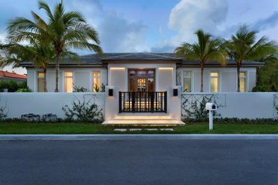 Palm Beach Single Family Home For Sale: 250 Ocean Terrace