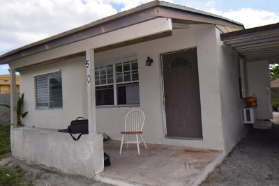 Boynton Beach Single Family Home For Sale: 50 S Palm Drive