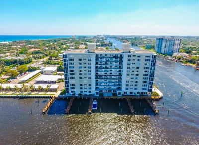 Delray Beach Condo For Sale: 400 Seasage Drive #806