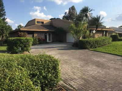 Palm Beach Gardens Single Family Home For Sale: 13890 Greensview Drive