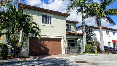 Boca Raton Single Family Home For Sale: 577 NW Library Commons Way
