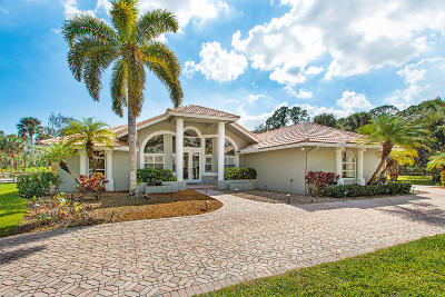 Palm Beach Gardens Single Family Home For Sale: 13000 Mallard Creek Drive