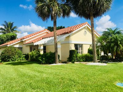 Boca Raton Single Family Home For Sale: 21967 Boca Woods Lane S