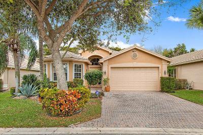 Boynton Beach Single Family Home For Sale: 7307 Maple Ridge Trail