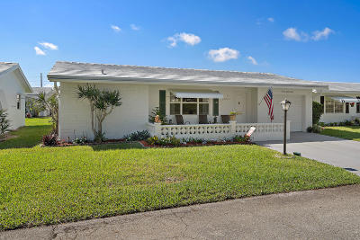 Leisureville, Palm Beach Leisureville Single Family Home For Sale: 2088 SW 13 Way