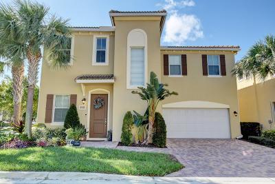 Boynton Beach Single Family Home For Sale: 458 Greensboro Way