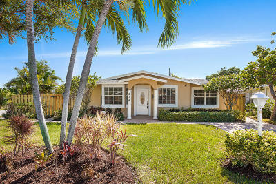 Delray Beach Single Family Home Contingent: 272 NE 13th Street
