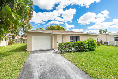 Delray Beach Single Family Home For Sale: 14366 Altocedro Drive