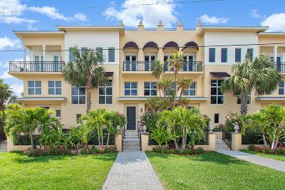 Townhouse For Sale: 425 Ocean Boulevard #2