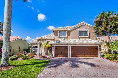 Boca Raton Single Family Home For Sale: 19646 Dinner Key Drive