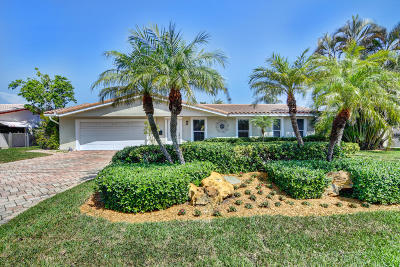 Pompano Beach Single Family Home For Sale: 2731 NE 5 Street