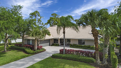 Palm Beach Gardens Single Family Home For Sale: 21 Rabbits Run