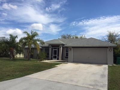 Port Saint Lucie Single Family Home Contingent: 2549 SW Abate Street