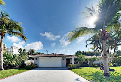 Singer Island Single Family Home For Sale: 1271 Singer Drive