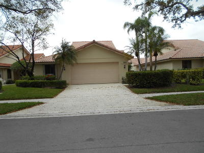 West Palm Beach Single Family Home For Sale: 2820 Gettysburg Lane
