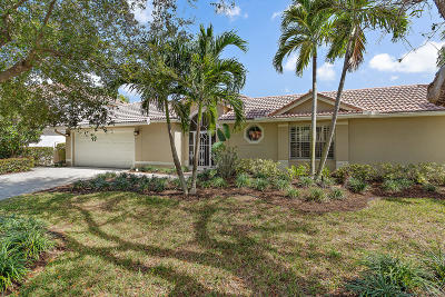 Jupiter Single Family Home Contingent: 303 Hardwood Point