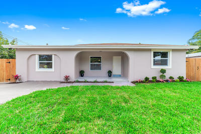 Delray Beach Single Family Home For Sale: 15180 Monroe Road