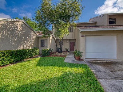 Palm City Townhouse For Sale: 1653 SW Crossing Circle