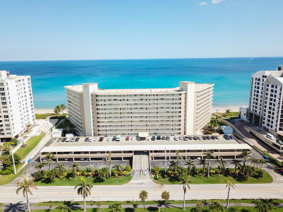 Highland Beach Condo For Sale: 3101 S Ocean Boulevard #912