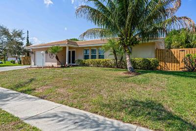 North Palm Beach Single Family Home For Sale: 1813 Ascott Road