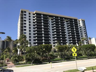 Coronado At Highland Beach Condo, Coronado Ocean Club, Coronado Condo For Sale: 3400 S Ocean Boulevard #15k