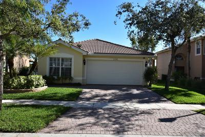 Royal Palm Beach Single Family Home For Sale: 11458 Sage Meadow Terrace
