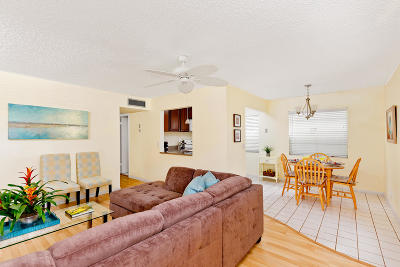 Delray Beach Condo For Sale: 470 Normandy J