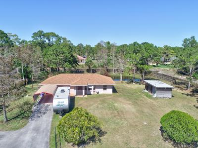 Loxahatchee Single Family Home Contingent: 16263 62nd Road