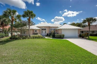 Palm City Single Family Home For Sale: 1838 SW Oakwater Point