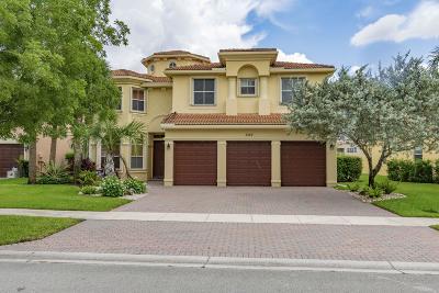 Wellington Single Family Home For Sale: 3157 Hartridge Terrace