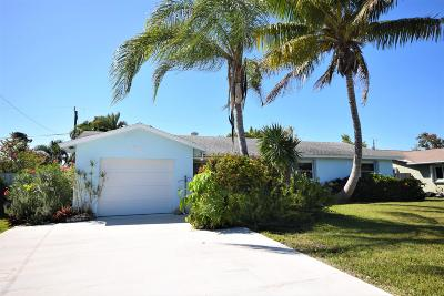 Delray Beach Single Family Home Contingent: 626 Bunting Drive