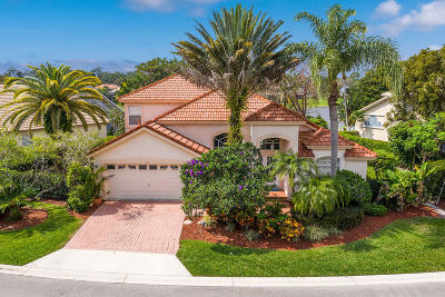 Palm Beach Gardens Single Family Home For Sale: 153 Bent Tree Drive