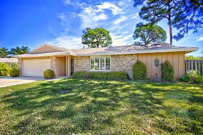 Jupiter Single Family Home For Sale: 601 Greenwood Drive
