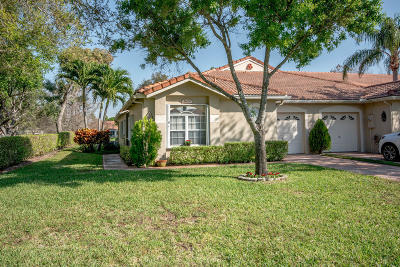 Boynton Beach Single Family Home For Sale: 2629 Spiceberry Lane