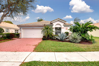 Boynton Beach Single Family Home For Sale: 12632 Coral Lakes Drive