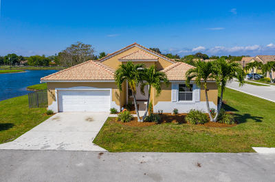 Boynton Beach Single Family Home Contingent: 9240 Cove Point Circle