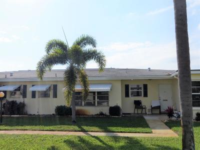 Boynton Beach Condo For Sale: 301 Pine Point Drive #C